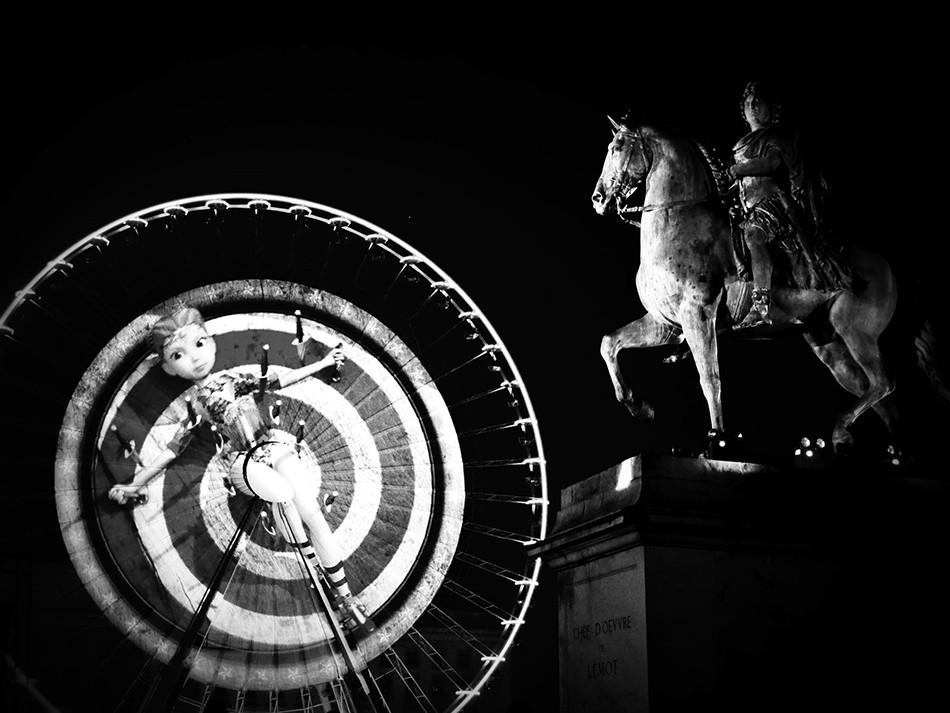 Statue Bellecour photographe événement